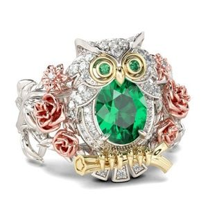 JUELIA Owl ring size 7